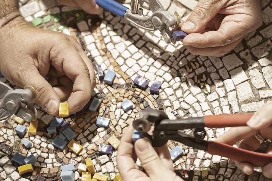 Andjelka Mosaics Dedication